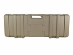 Vega Force Company Stackable Foam Interior Hard Case - Tan
