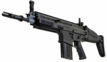VFC FN SCAR-H MK17 Electric Airsoft Rifle AEG, Black