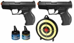 Walther P99 Dueler's Kit with Target and BBs