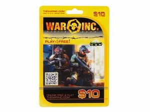 War Inc Battle Zone, $10 Cash Card