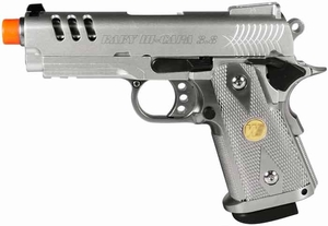 WE Baby Hi-Capa 3.8 GBB Silver Slot