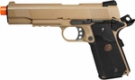 WE Full Metal 1911 MEU Desert with Rail Gas Pistol