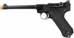 "WE Luger P08 6"" Gas Blowback Metal Airsoft Pistol"