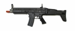 WE SCAR Gas Blowback Rifle, Black