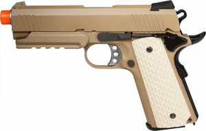 WE SOCOM 4.3 Tactical Gas Airsoft Pistol w/ Rail