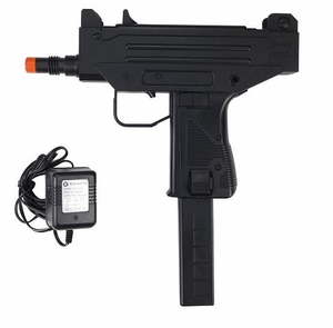 WELL D93 Airsoft Full Size Uzi Style Auto Electric Pistol