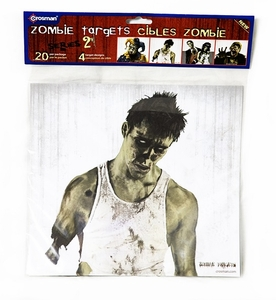 Zombie Paper Targets, 20ct