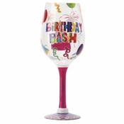 Birthday Bash GIANT Wine Glass by Lolita�