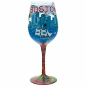 Boston Wine Glass by Lolita�