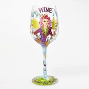 Fairy Wine Mother Wine Glass by Lolita�