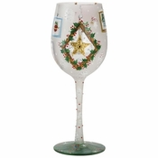 Frosted Window Panes Wine Glass by Lolita�