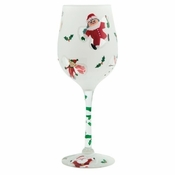 GIANT Snow Angels Wine Glass by Lolita�