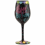 Happy Birthday to You Wine Glass by Lolita�