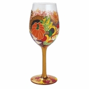 Horn of Plenty Wine Glass by Lolita�