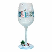 I Still Believe Wine Glass by Lolita�