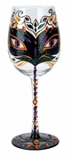 Masquerade 6 Wine Glass by Lolita�