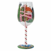 Metro-Pole-itan Wine Glass by Lolita�