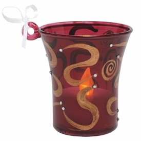 Mini-candle Bejeweled Ornament by Lolita�