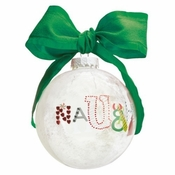 Naughty and Nice Ball Ornament by Lolita�