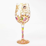 Queen for a Day Wine Glass by Lolita�