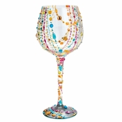 Radiance Super Bling Wine Glass by Lolita�