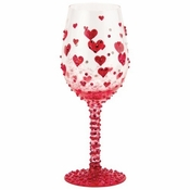 Red Hot, Too Wine Glass by Lolita�