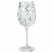 Silver Snowflake, Too Wine Glass by Lolita�