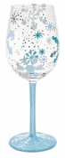 Snowflake Wine Glass by Lolita�