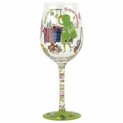 Stay at Home Mom Wine Glass by Lolita�