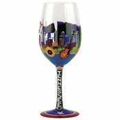 Tennessee Wine Glass by Lolita�