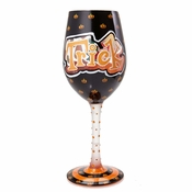 Trick or Treat Too Wine Glass by Lolita�