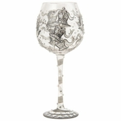 Wedding Bells Super Bling Wine Glass by Lolita�