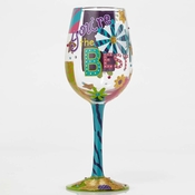 You're the Best Wine Glass by Lolita�