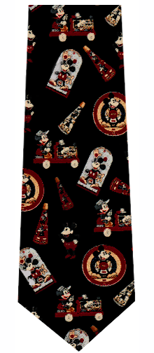 Disney Mickey Mouse Vintage Icons Tie