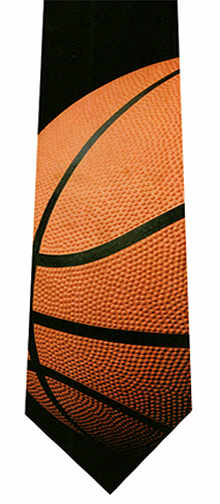 Big Basketball Tie