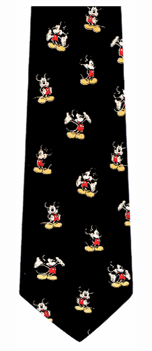 Classic Mickey Mouse Silk Tie