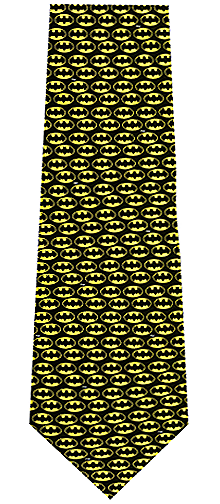DC Comics Batman Logo Silk Tie