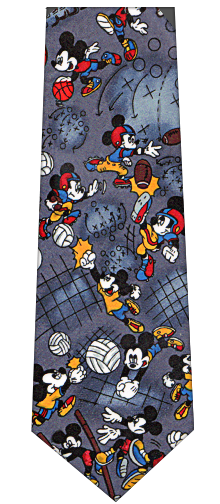Disney Mickey Mouse Soccer Tie