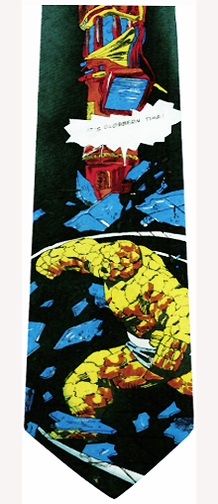 Fantastic Four The Thing Silk Necktie