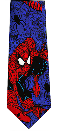 Marvel Comic Book Spiderman Tie