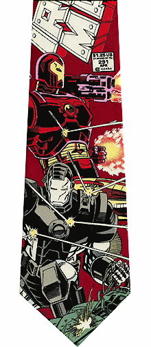 Iron Man Silk Necktie