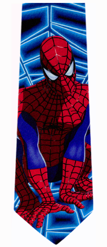 Marvel Spiderman Silk Necktie