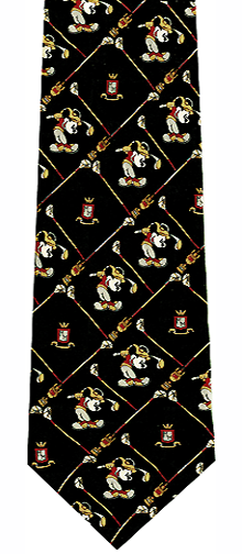 Mickey Mouse Golf Silk Tie
