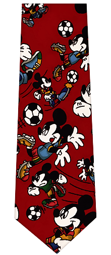 Mickey Mouse Soccer Necktie