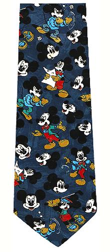 Mickey Mouse Repeat Necktie