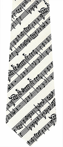 Music Scales Tie