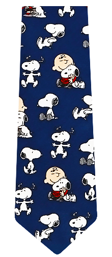 Peanuts Best Friends Tie