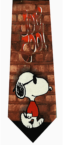 Peanuts Snoopy Cool Silk Tie