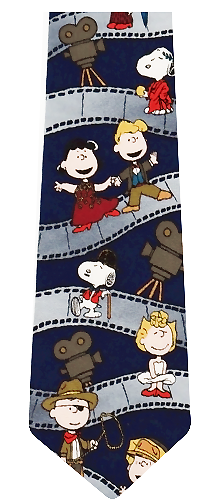 Peanuts Film Strip Silk Tie