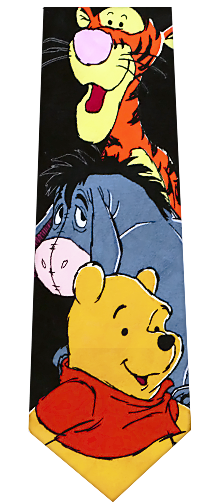 Pooh, Eeyore, and Tiger Tie